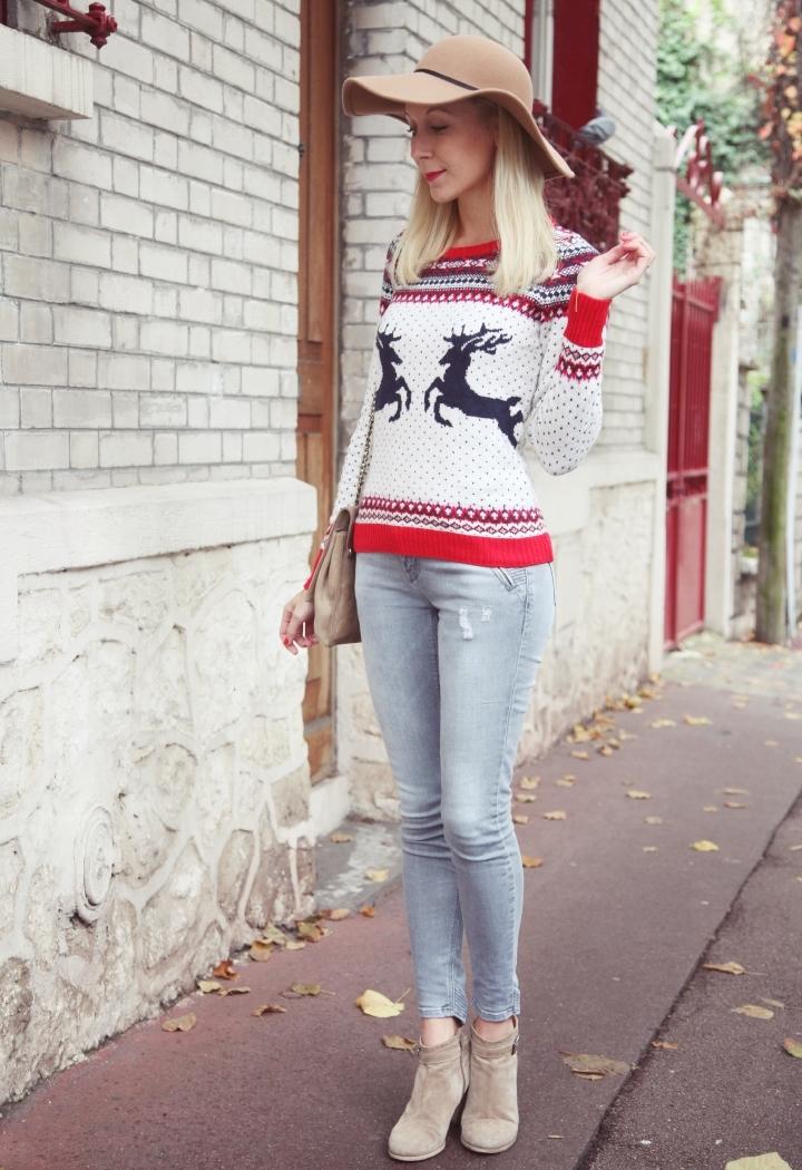 la-souris-coquette-blog-mode-pull-noel-h&m-cerf-monoprix-capeline-camel-zara-12