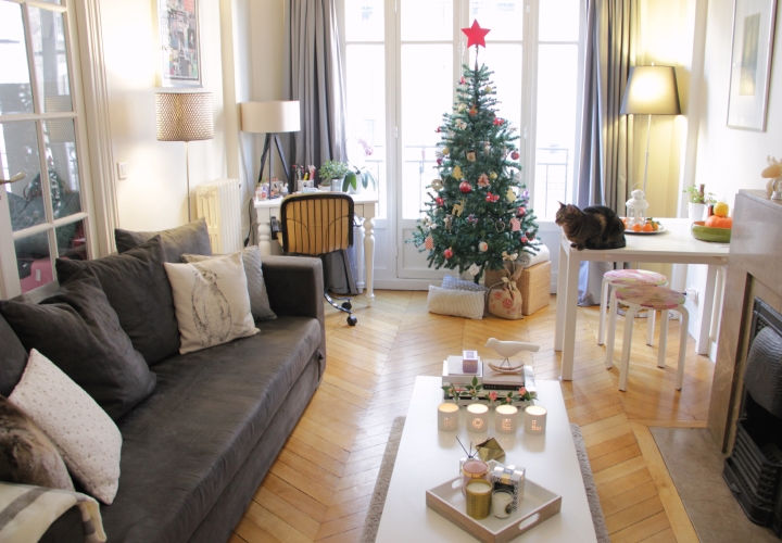 Decoration sapin noel cocooning