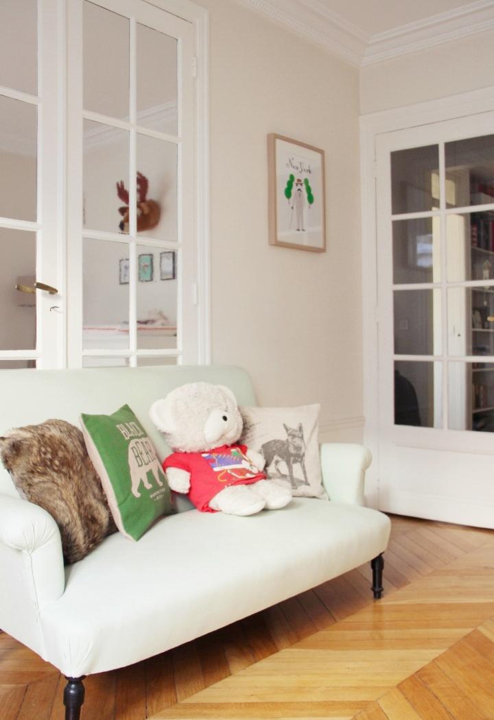 Chambre Bebe Nuage : La chambre de basile souris coquette mode maman