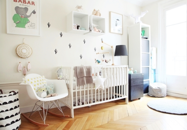 deco scandinave chambre bebe fille. Black Bedroom Furniture Sets. Home Design Ideas